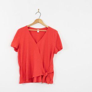 Old Navy Wrap Top